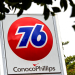 Conoco Phillips Pole Sign