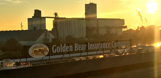 Rooftop Sign Engineering for Golden Bear Insurance Co