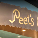 Custom Sign for Peet's Coffee